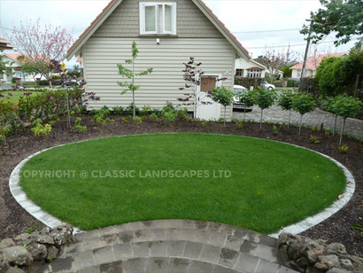 Ready lawn auckland new lawn design garden ideas north shore for Landscaping jobs auckland